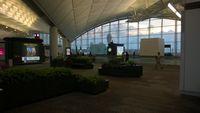 Hong Kong International Airport - Passenger gate area at Hong Kong Int'l - by Bob Simmermon