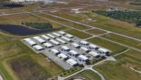 Orlando Sanford International Airport (SFB) - South East Ramp hangar facility - by Harry Rogers