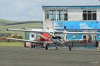 Perth Airport (Scotland) - Scottish Aero Club apron at Perth EGPT - by Clive Pattle