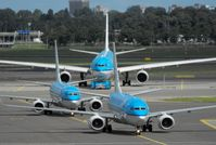 Amsterdam Schiphol Airport - KLM Convoy - by Keith Sowter