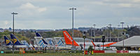 Edinburgh Airport, Edinburgh, Scotland United Kingdom (EGPH) - Tails at EDI - by Clive Pattle