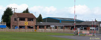 Sherburn-in-Elmet Airfield - Sherburn Aero Clubhouse at EGCJ - by Clive Pattle