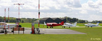 Sherburn-in-Elmet Airfield - Airside view at EGCJ - by Clive Pattle