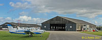 Sherburn-in-Elmet Airfield - Airfield view at EGCJ - by Clive Pattle
