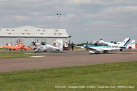 Leicester Airport - Royal Aero Club 3R's air race at Leicester - by Chris Hall
