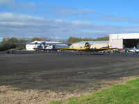 Ardmore Airport, Auckland New Zealand (NZAR) - warbird apron on dday show - by magnaman