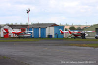 Wolverhampton Airport - at the Radial & Trainer fly-in - by Chris Hall