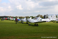 Sywell Aerodrome - at the EV-97 fly in. Sywell - by Chris Hall