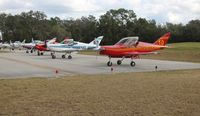 Spruce Creek Airport (7FL6) - Gaggle flight line up - by Florida Metal