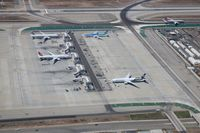 Los Angeles International Airport (LAX) - Remote hardstands - by Florida Metal