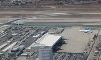 Los Angeles International Airport (LAX) - LAX hangar area - by Florida Metal