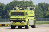 Oakland County International Airport (PTK) - Pontiac ARFF - by Florida Metal
