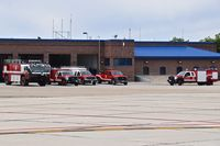 Boise Air Terminal/gowen Fld Airport (BOI) - Idaho Air national Guard ARFF units. Stationed on the south side of airport. - by Gerald Howard