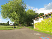 Autun Bellevue Airport - nice entry lane to the airfield - by olivier Cortot