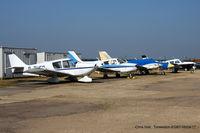 Turweston Aerodrome - wrecks and relics at Turweston - by Chris Hall