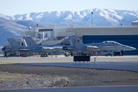 Boise Air Terminal/gowen Fld Airport (BOI) - F/A-18Ds from VFA-106  - by Gerald Howard