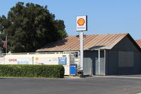 Santa Paula Airport (SZP) - Santa Paula SHELL 100LL Self-Serve Fuel Dock, no price change - by Doug Robertson