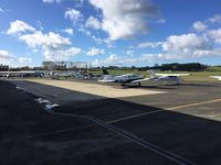 North Shore Aerodrome - apron view - by magnaman
