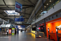 Leipzig/Halle Airport - Not a very busy place on a Saturday morning ... - by Tomas Milosch