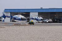 Boise Air Terminal/gowen Fld Airport (BOI) - Helicopters awaiting maintenance at Aviation Air. - by Gerald Howard