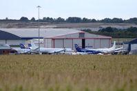 Humberside Airport - Humberside Airport, UK. Eastern Airways maintenance base. - by FerryPNL