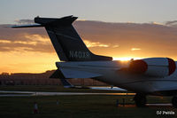 Dundee Airport, Dundee, Scotland United Kingdom (EGPN) - Early November apron view - by Clive Pattle