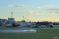 Dundee Airport - Dundee apron - by Clive Pattle