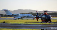 Dundee Airport - Frosty morning on the apron at Dundee - by Clive Pattle