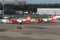 Düsseldorf International Airport - new era soon without Air Berlin.. financial problems forced AB to reduce operations - by Jeroen Stroes
