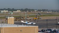 Boise Air Terminal/gowen Fld Airport (BOI) - Some construction going on for Taxiway Alpha and RWY 10L. - by Gerald Howard