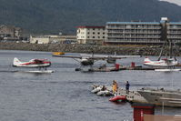 Ketchikan Harbor Seaplane Base (5KE) - Cruise ships keep this Seaplane Base busy - by Timothy Aanerud