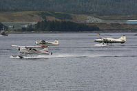 Ketchikan Harbor Seaplane Base (5KE) - Load'm up and go flying - by Timothy Aanerud