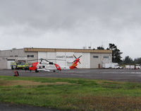 Astoria Regional Airport (AST) - USCG hangar at Astoria airport OR - by Jack Poelstra
