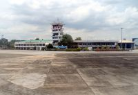 Chiang Mai International Airport - arrival from BKK ,the Tower - by Gerhard Ruehl