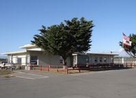 Jack Mc Namara Field Airport (CEC) - airport office of Jack Mc Namara Field airport, Crescent City CA - by Jack Poelstra