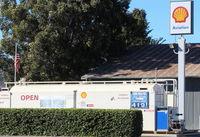 Santa Paula Airport (SZP) - Santa Paula SHELL 100LL Self-Serve Fuel Dock, location: midfield North. No price change. - by Doug Robertson