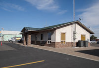 Prineville Airport (S39) - Airport office at Prineville airport OR - by Jack Poelstra