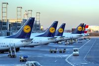Frankfurt International Airport - The old Lufthansa B737 Fleet - by JPC