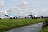 Amsterdam Schiphol Airport - Taxiway Q - by Andreas Ranner