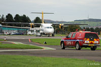 Dundee Airport, Dundee, Scotland United Kingdom (EGPN) - Dundee operations - by Clive Pattle