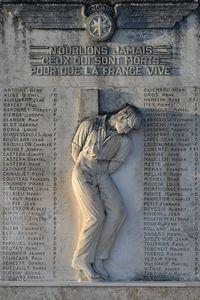 Bordeaux Airport, Merignac Airport France (LFBD) - Aux travailleurs de la SNCASO ayant donné leur vie au cours de la 2e guerre mondiale (1939/1945). Résistants, fusillés, déportés, victimes de bombardements. - by JC Ravon - FRENCHSKY