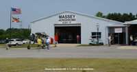 Massey Aerodrome Airport (MD1) - Massey Hangar. - by J.G. Handelman