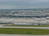 Paris Charles de Gaulle Airport (Roissy Airport) - terminal 2 at Paris cdg - by JC Ravon - FRENCHSKY