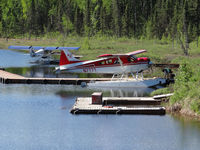 Christiansen Lake Seaplane Base (AK8) - Christiansen lake seaplane base Talkeetna AK - by Jack Poelstra