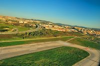 Portela Airport (Lisbon Airport), Portela, Loures (serves Lisbon) Portugal (LPPT) - The End of the Runway 35/17  - by JPC