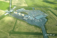 Invercargill Airport, Invercargill New Zealand (NZNV) - Invercargill terminal buildings from overhead - by Peter Lewis