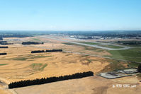 Christchurch International Airport - Base for grass RW02 - by Peter Lewis