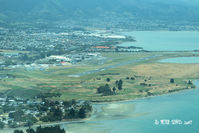Nelson Airport - Viewed from the east, after departing RW02 - by Peter Lewis