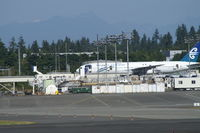 The Boeing Company Heliport (WA82) - Boeing did not permit any photography on the site tour - this pix was taken from the car park.  I was with a tour group in June 2006 - by Neil Henry