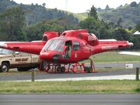 Ardmore Airport - pair of helis on maintenance apron - by magnaman